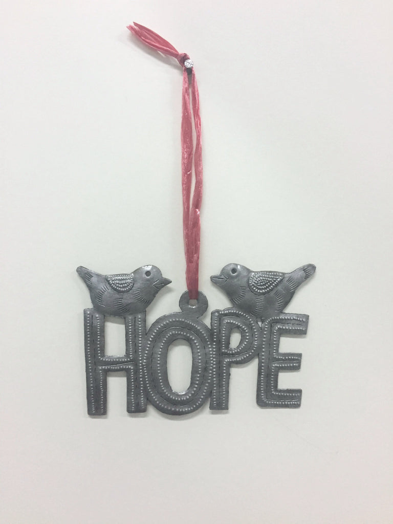 Hope and Birds Wallhanging