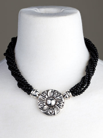 Joyas Cachi, Peru, Beaded, Silver, Jewelry, Necklace