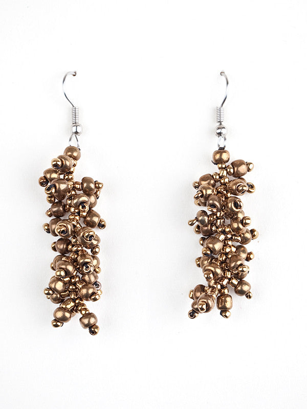 La Mega, Ecuador, Beaded Jewelry, Earrings