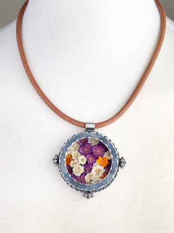 Garden Pendant Necklace