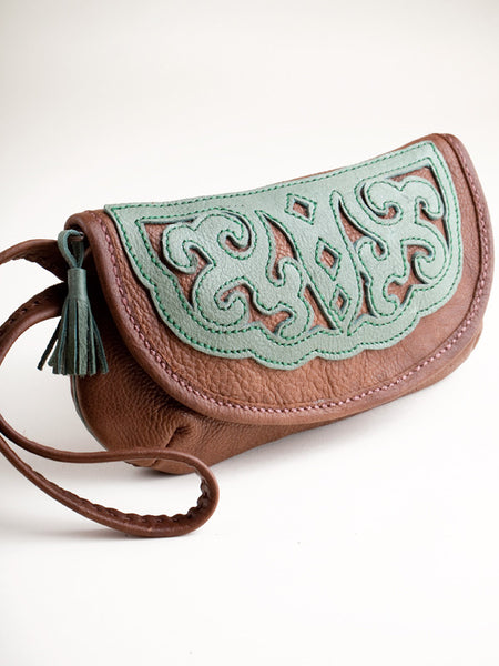 Purse with Wrist Strap