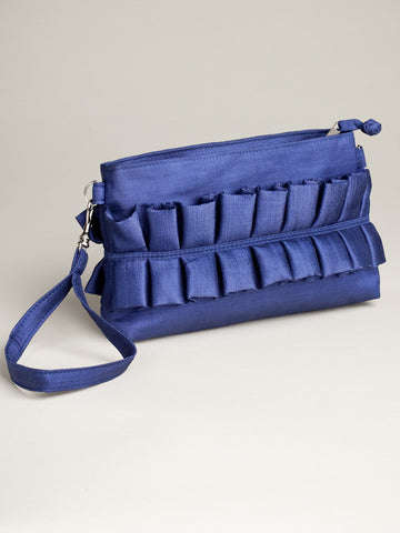 Cinched Bag - Blue