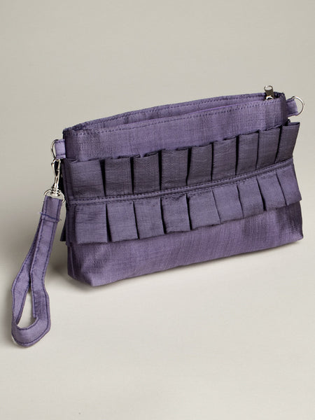 Cinched Bag - Purple