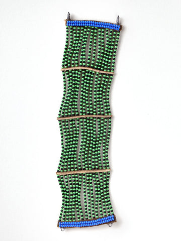 Beaded Wrap Bracelet - Green