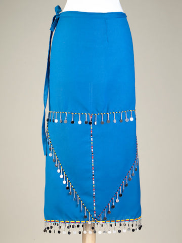 Wrap Skirt - Blue