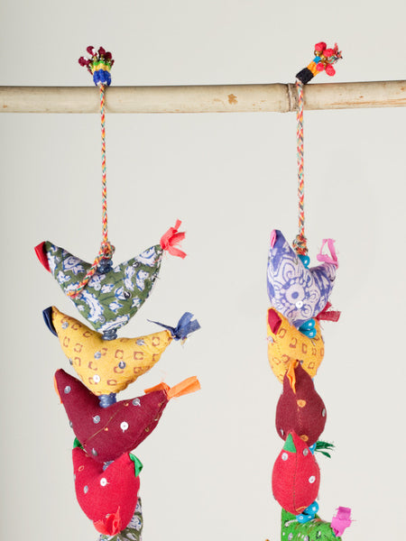 Medium Prosperity Hens - Multicolored