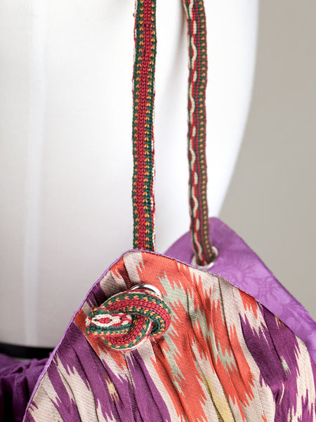 Blooming Ikat Tulip Bag