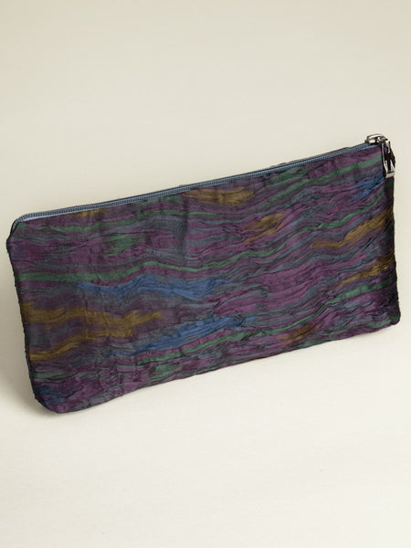 Classic Ikat Zipper Bag - Large