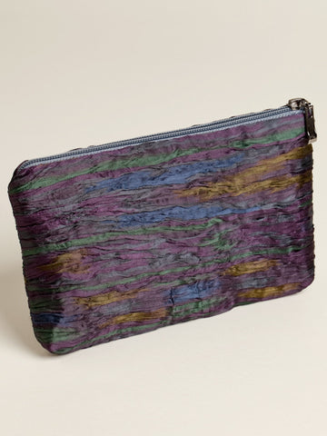 Classic Ikat Zipper Bag - Small