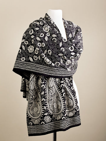 In Harmony Floral and Paisley Wrap