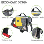 Adjustable Dog Saddle Bag Backpack - Multi 2 - Nifty Camping Gear