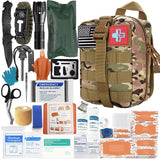 147 Piece First Aid Kit - Camo - Nifty Camping Gear