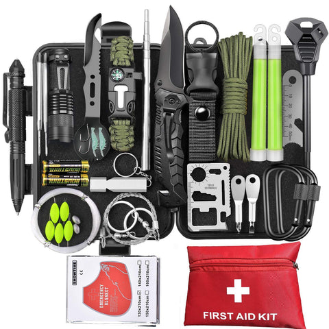 73-in-1 Survival Kit - Nifty Camping Gear