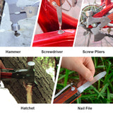 Hatchet Multitool, 18-in-1 Survival Gear for Outdoor Hunting Hiking