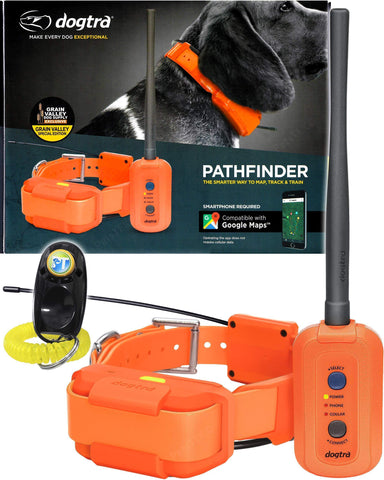 Dog Remote and GPS Tracking Collar - Orange - Nifty Camping Gear