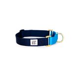 Martingale Collar: Navy & Blue