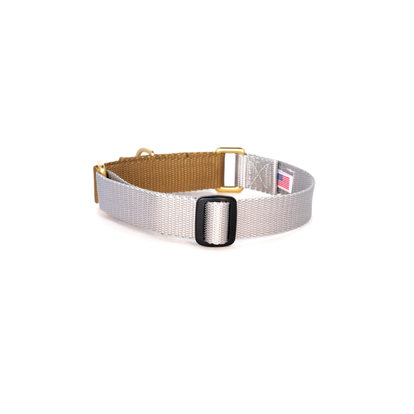 Martingale Collar: Silver & Gold