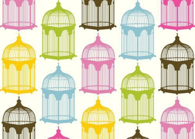 note bird cage - Wholesale Greeting Cards