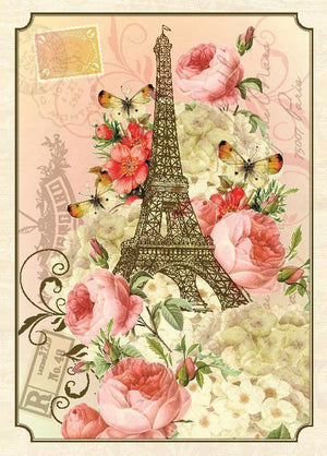 BN5095-Aviary Eiffel Boxed Note