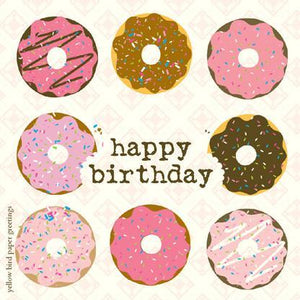 Birthday Donuts Gift tag