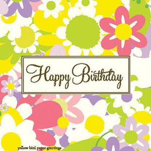 Birthday Daises Gift tag
