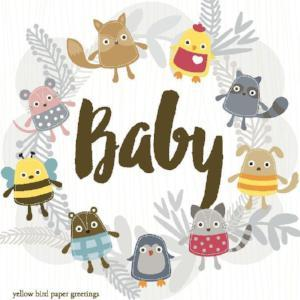 Baby Woodland Critters Gift Tags