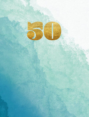 50th Birthday - (tidemark TM1004)