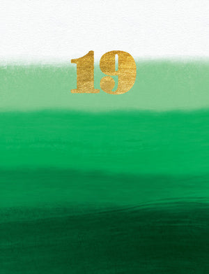 19th Birthday - (tidemark TM1008)