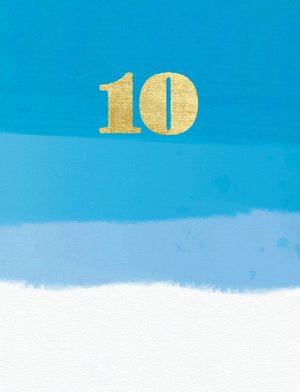 10th Birthday - (tidemark TM1011)