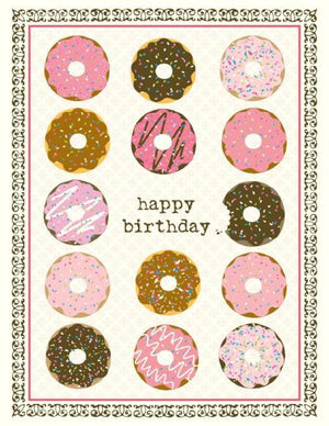 VB9089-Donuts Birthday Card