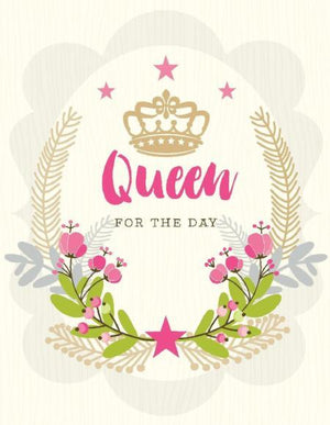Queen For Day Poise Bouquet Birthday Card