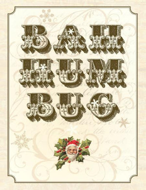 Christmas Ba Hum Bug greeting Card