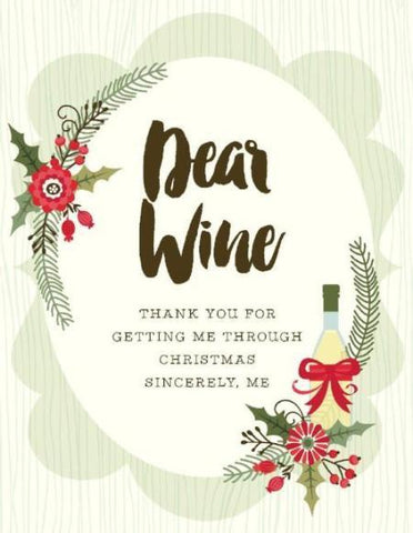 VC9114-Dear Wine Thank You Card