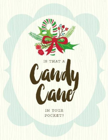 VC9115-Candy Cane in Pocket Card