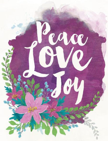 NEW VC9119 Peace, Love Joy