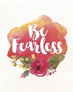 Be Fearless Greeting Card
