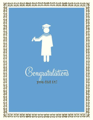 VS9029-Stick Person Graduation Card