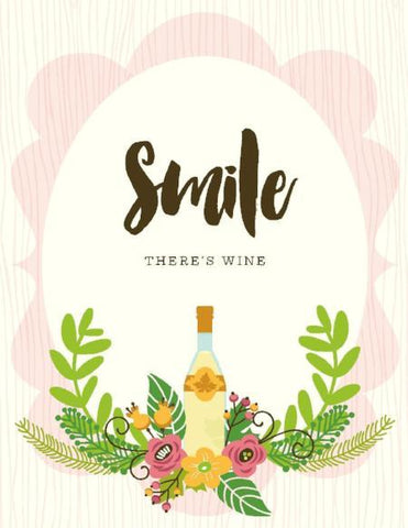 VS9052-Smile There's Wine Card