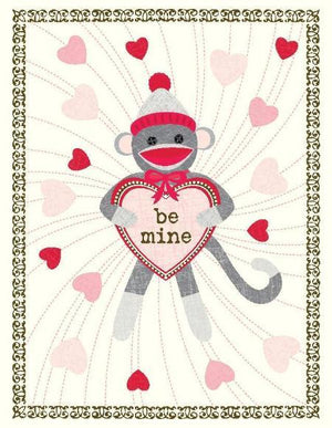 VV9044-Sock Monkey Love Card
