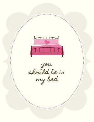 VV9057-In My Bed Love Card