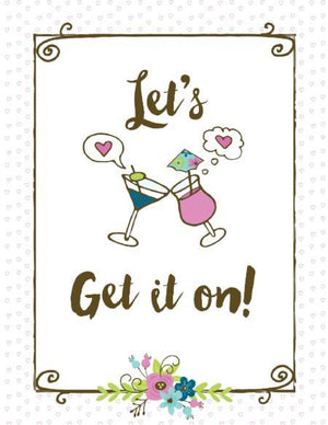 Let's Get it on Valentine Love greeting card