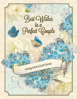VW9065-Aviary Perfect Wedding Card