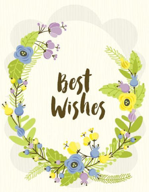 VW9070-Best Wishes Card