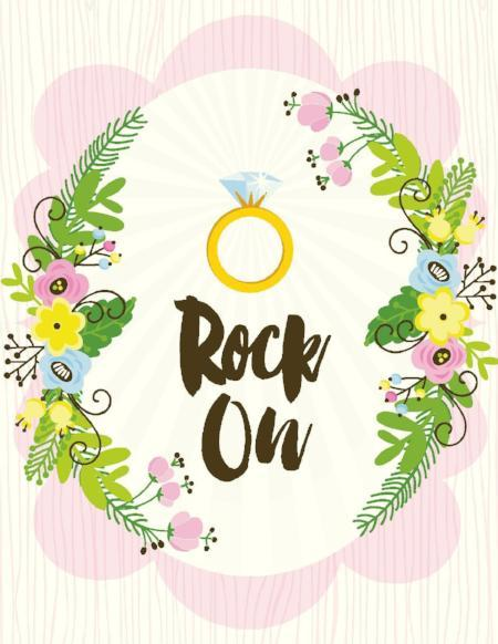 VW9075-Rock On Bridal Card