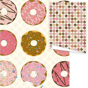 WP3003-Donuts Gift Wrap