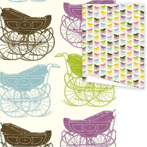WP3005-Bright Prams Gift Wrap