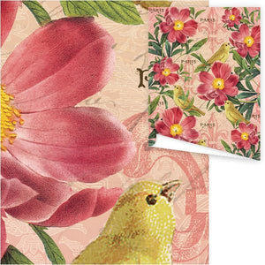 WP3014-Canary Aviary Gift Wrap
