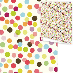 WP3032-Optic Dots Gift Wrap