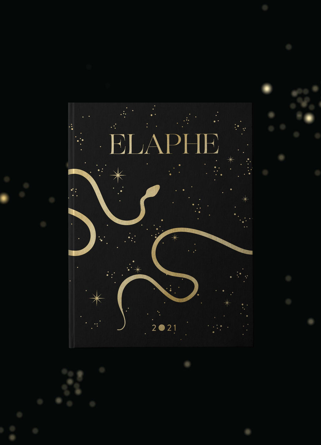 Elaphe 2021 13 Month Calendar, with astronomical, astrological and celestial events. A year of transformation, skin shedding and healing by Cocorrina & Co