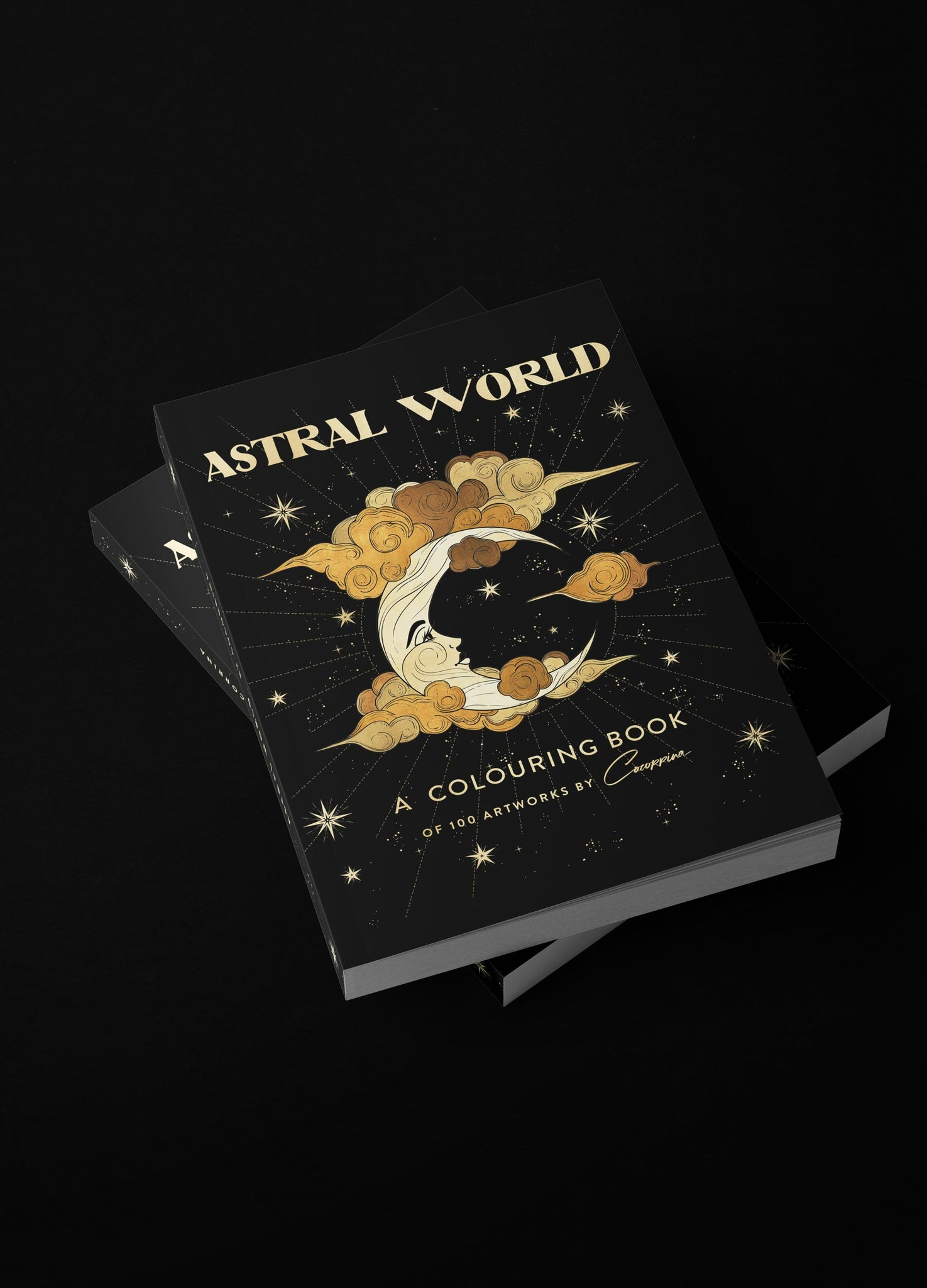 Astral World Colouring Book